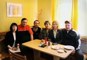 Константин Хабенский в шале «Легенда»